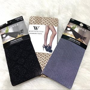 Bundle of Two Trouser Socks- One Tights